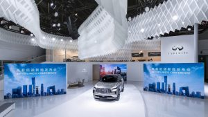 The INFINITI QX60 Monograph pictured at Auto China in Beijing 20