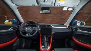 3 New MG ZST's Front Cabin