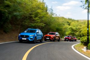 5 New MG ZSTs on the Road