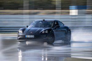Porsche Taycan Drifts into the Guinness World Records