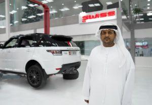 صورة 4_ مدير الشركة فهد الحميري في رويال سويس لخدمات السيارات2