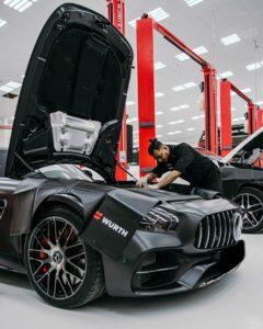 في منشأة رويال سويس لخدمات السيارات3 AMGصورة 1_ صيانة سيارة ال