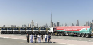 Image 2 - ENOC Takes Delivery of Eight New C 380 Tractor Heads from Renault Trucks (2)
