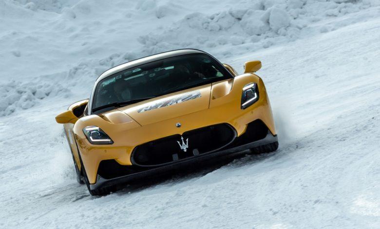 1 Maserati MC20 Cold Test Livigno