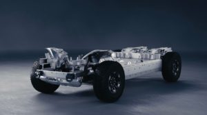 Driven by next-generation EV propulsion technology, the GMC HUMM