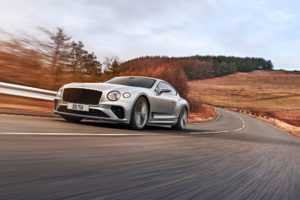 8 New Continental GT Speed on The Road