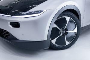 Image of Bridgestone tire on Lightyear One